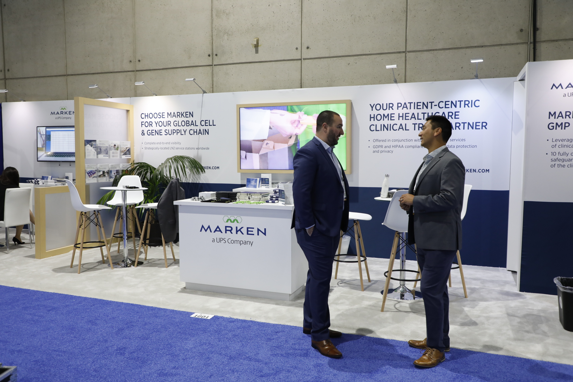 The DIA Marken Booth