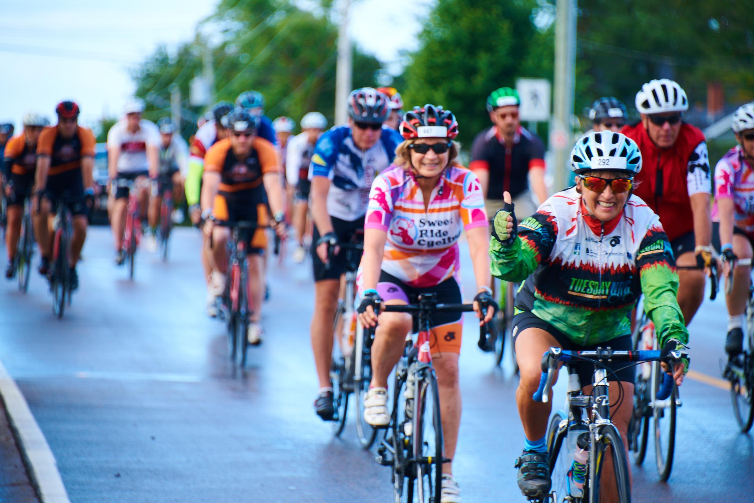 The GranFondo Bicycle Race