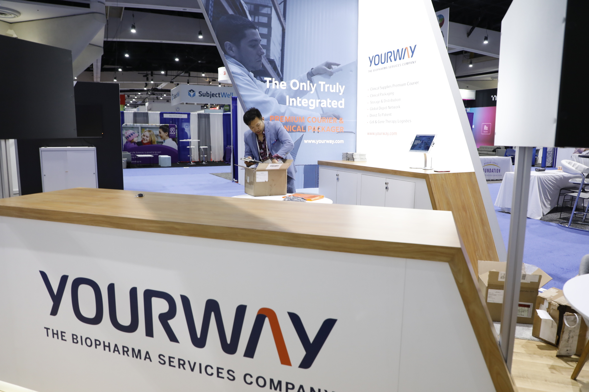 The DIA Yourway Booth