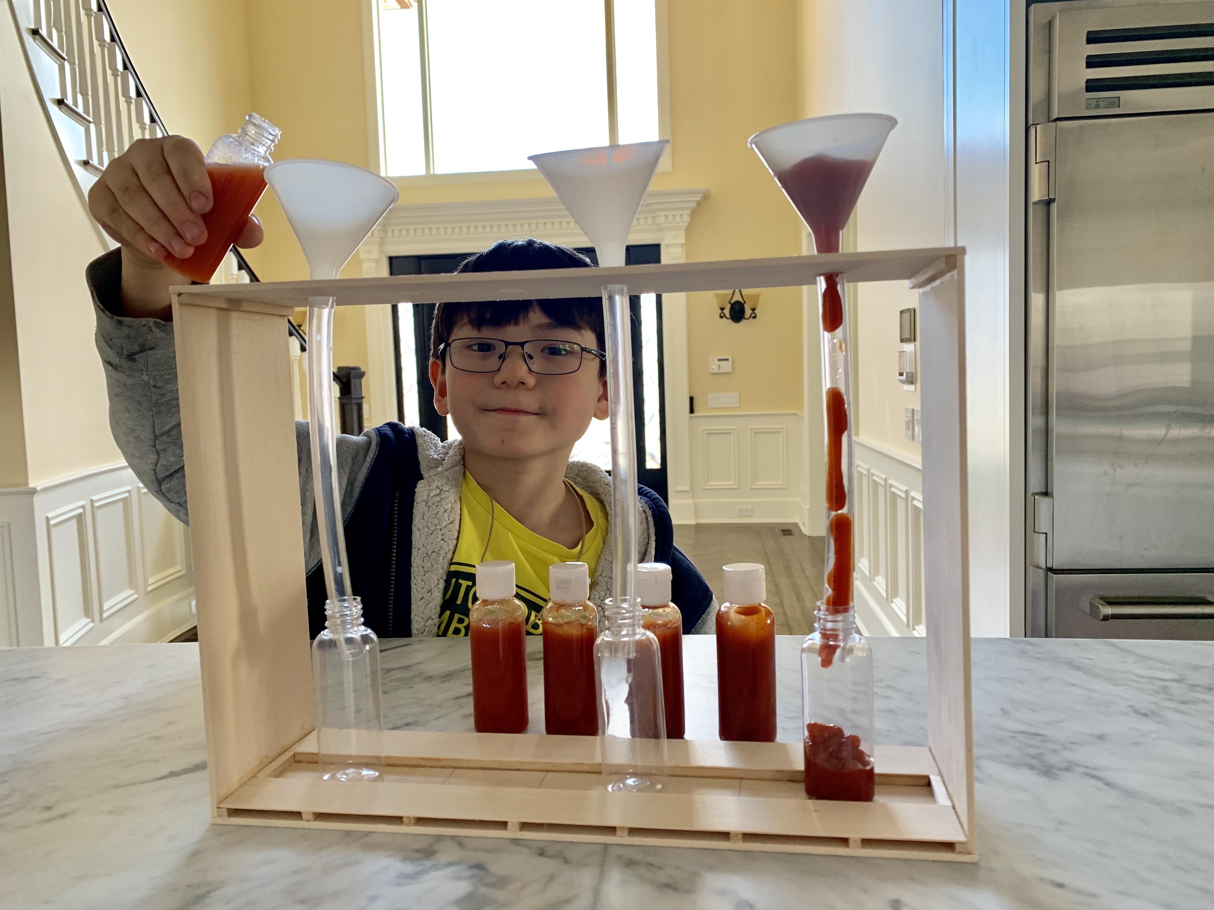 Viscosity & Gravity: Science Experiment