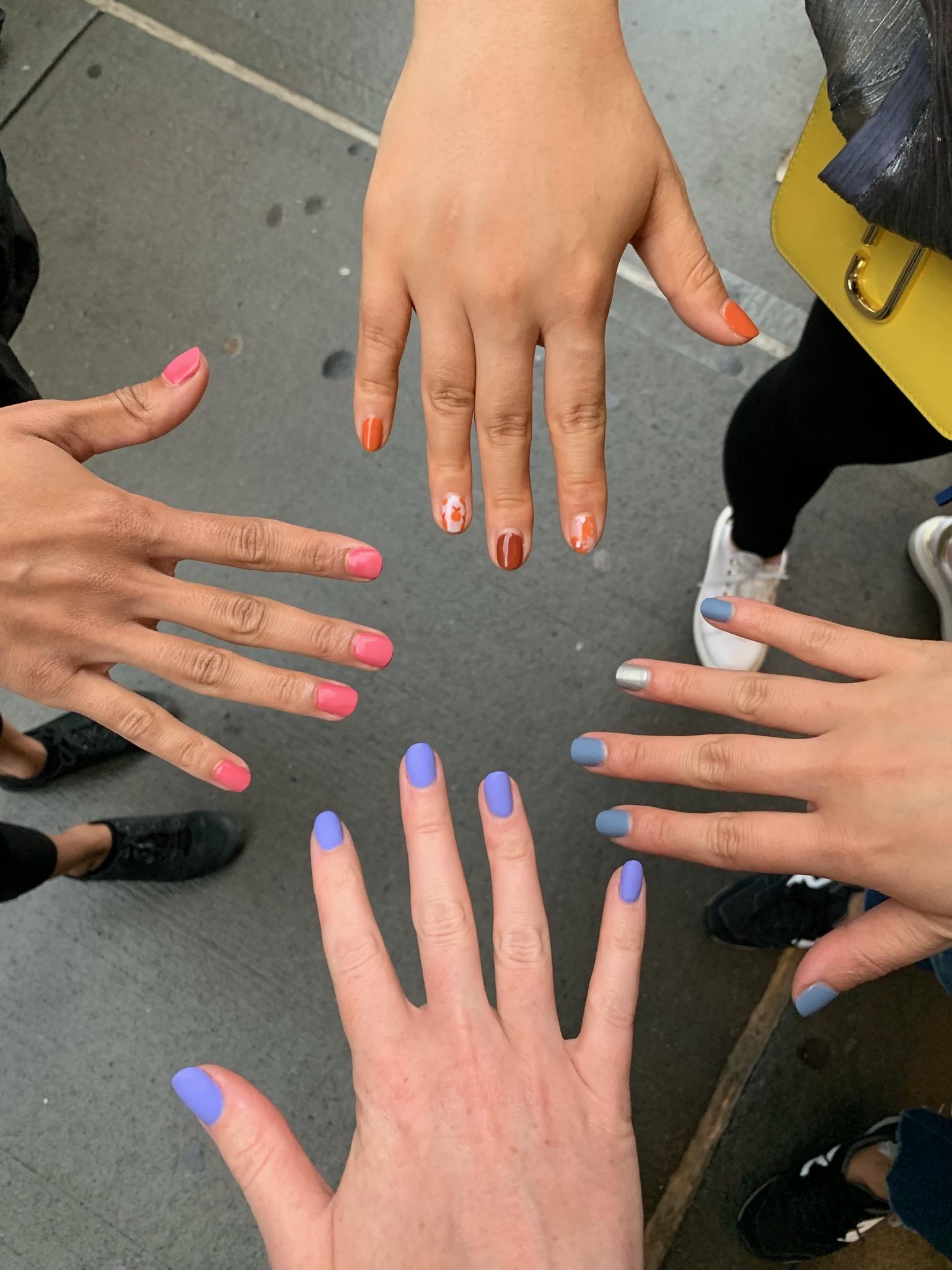 Accounts Team Nails