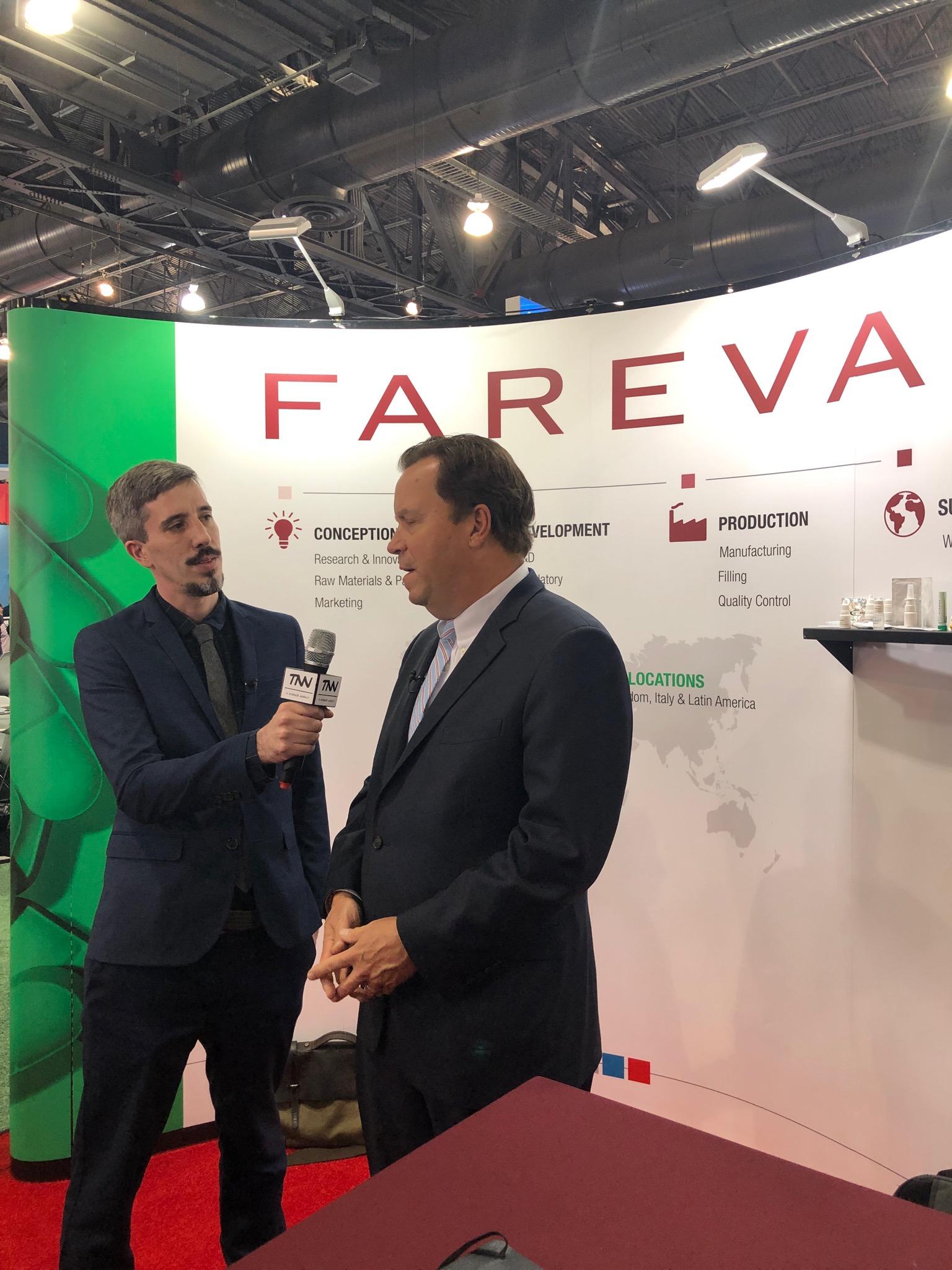 Fareva Interview for PA TV
