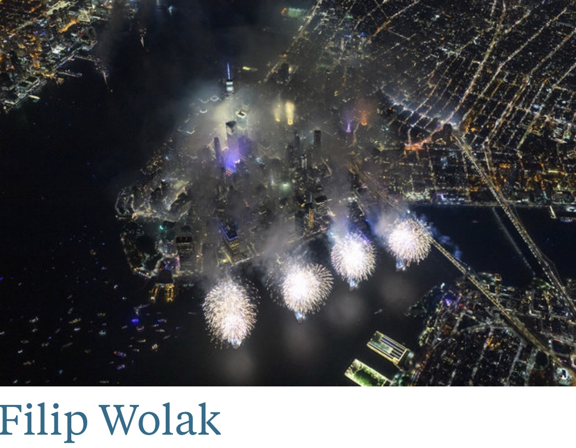 Fireworks From Above