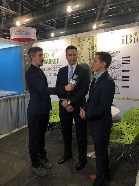 iBio Video Interview at BIO