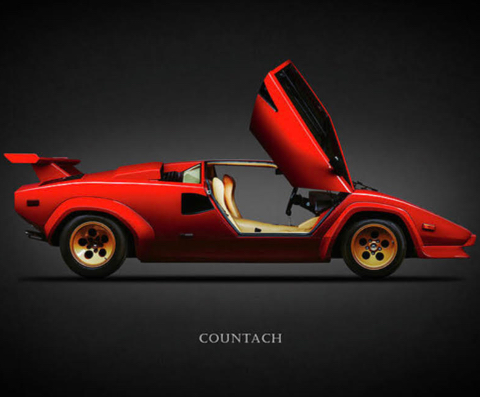 The Countach Comes Home