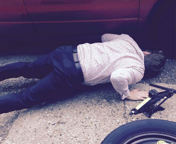 Flat Tire on the Road to… CPhI NA