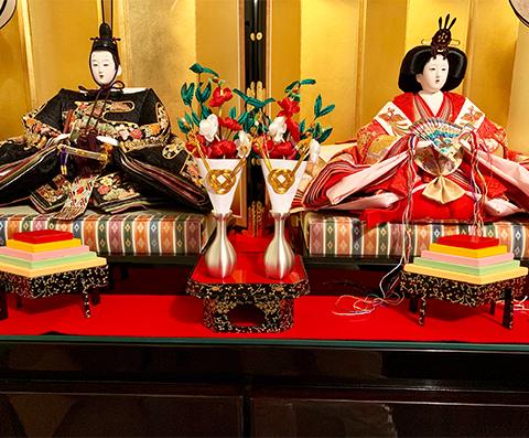 Celebrating Hinamatsuri