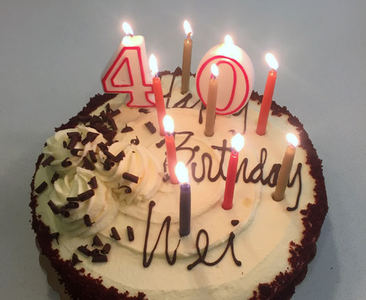 Happy Birthday Wei!