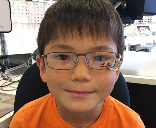 Luke's First Glasses
