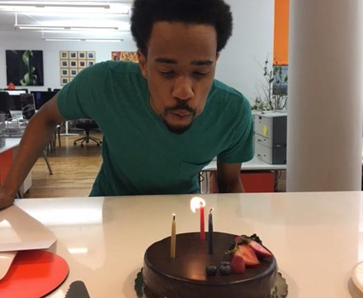 Happy Birthday, Maurice