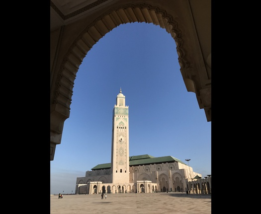Another Look at the Casablanca Mosque