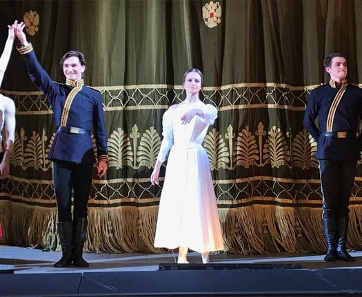 Inside TheBolshoi Theatre, Moscow