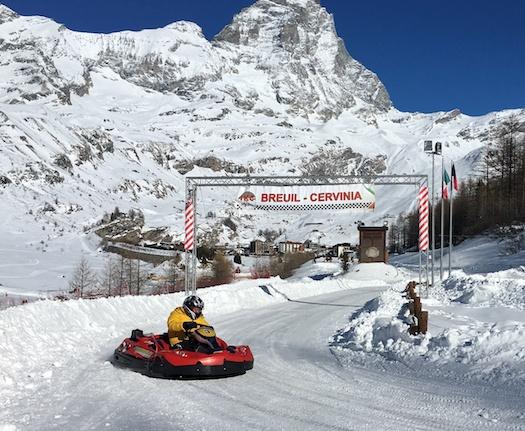 Ice Carts Racing