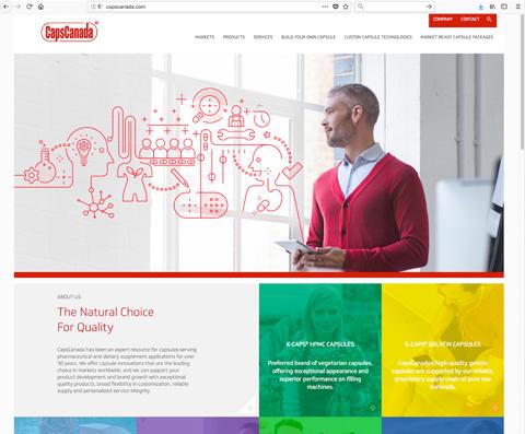 New Client Website – CapsCanada