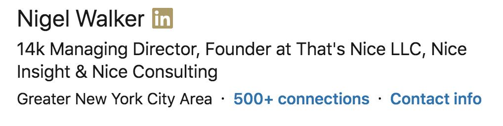 14K on LinkedIn